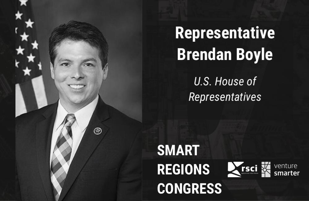 Representative Brendan Boyle at Venture Smarter's Smart Regions Congress