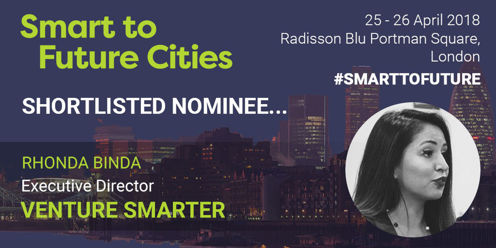Rhonda Binda - Shortlisted Nominee - Smart Cities People's Choice Award
