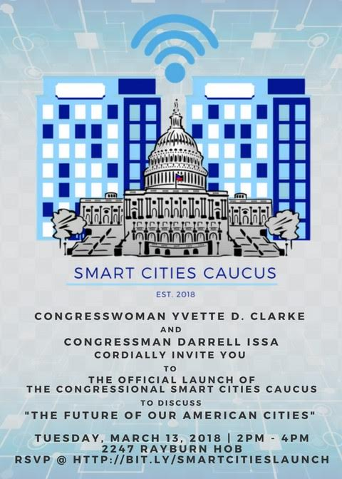 Venture Smarter with the Congressional Smart Cities Caucus