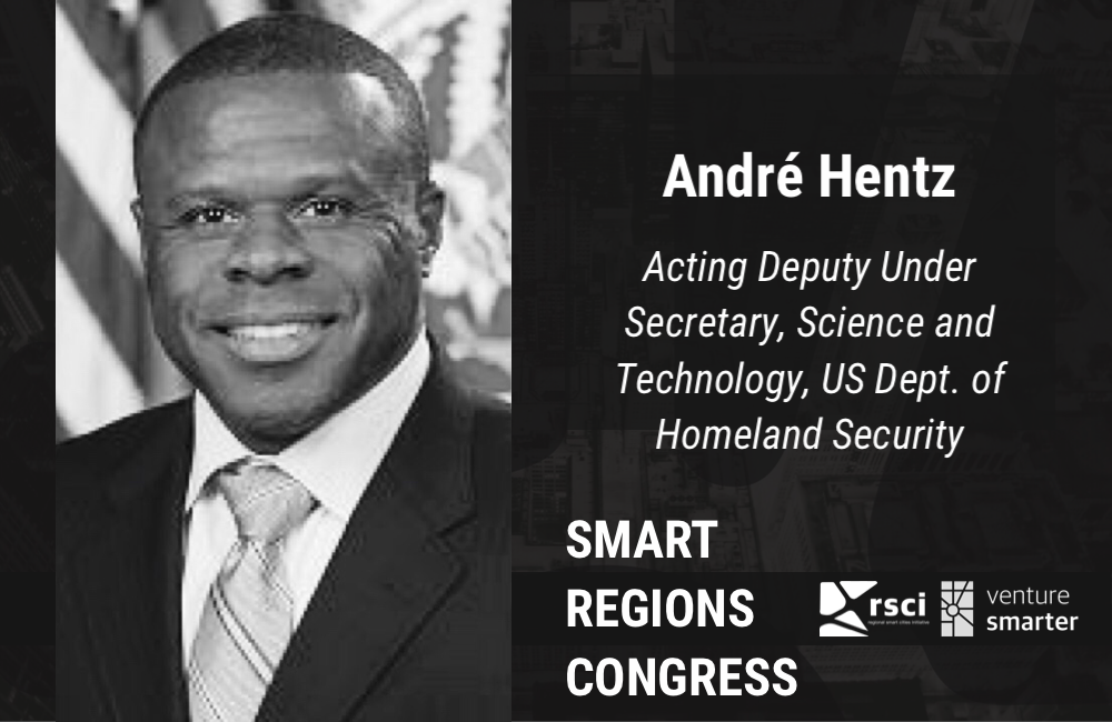 Andre Hentz, DHS Science and Technology at Venture Smarter's Smart Regions Congress