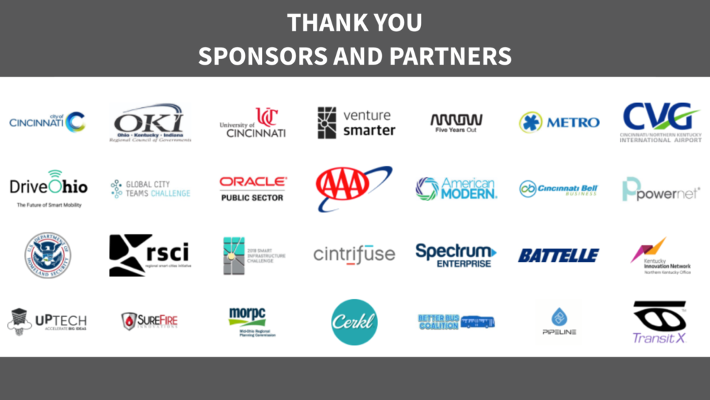 Smart Cincy Summit 2018 Partners and Sponsors
