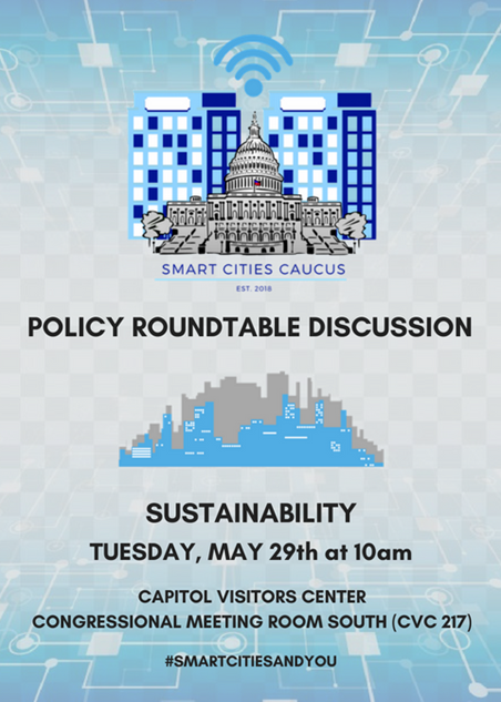 Venture Smarter at the Congressional Smart Cities Caucus Sustainability Roundtable.png