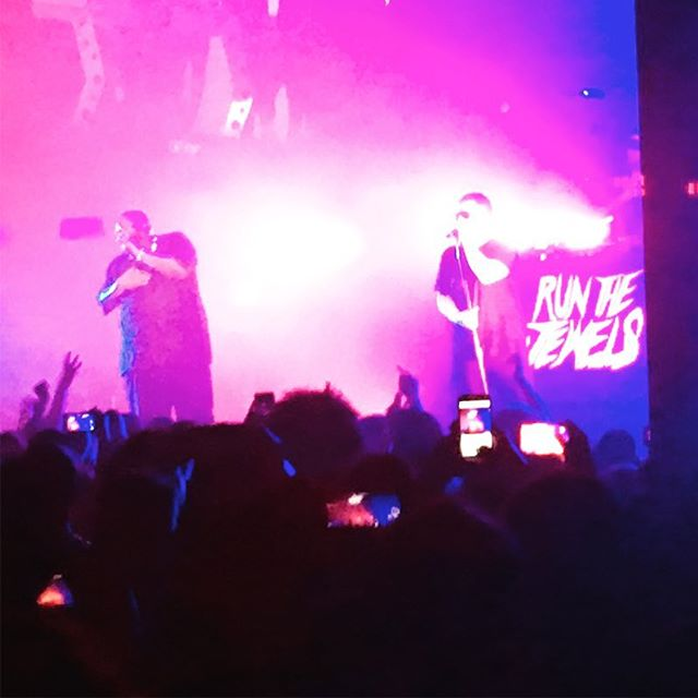 Run the Jewels! Thank you NYC.