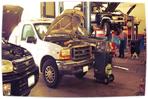 Truck & Automotive Repair    At Anaheim Truck & Auto we know you depend on your vehicles. Here are some of the reasons we can take care of you. We offer pick-up & delivery of your vehicle, Courtesy shuttle service and towing service is available in OC, Santa Ana and surrounding areas.