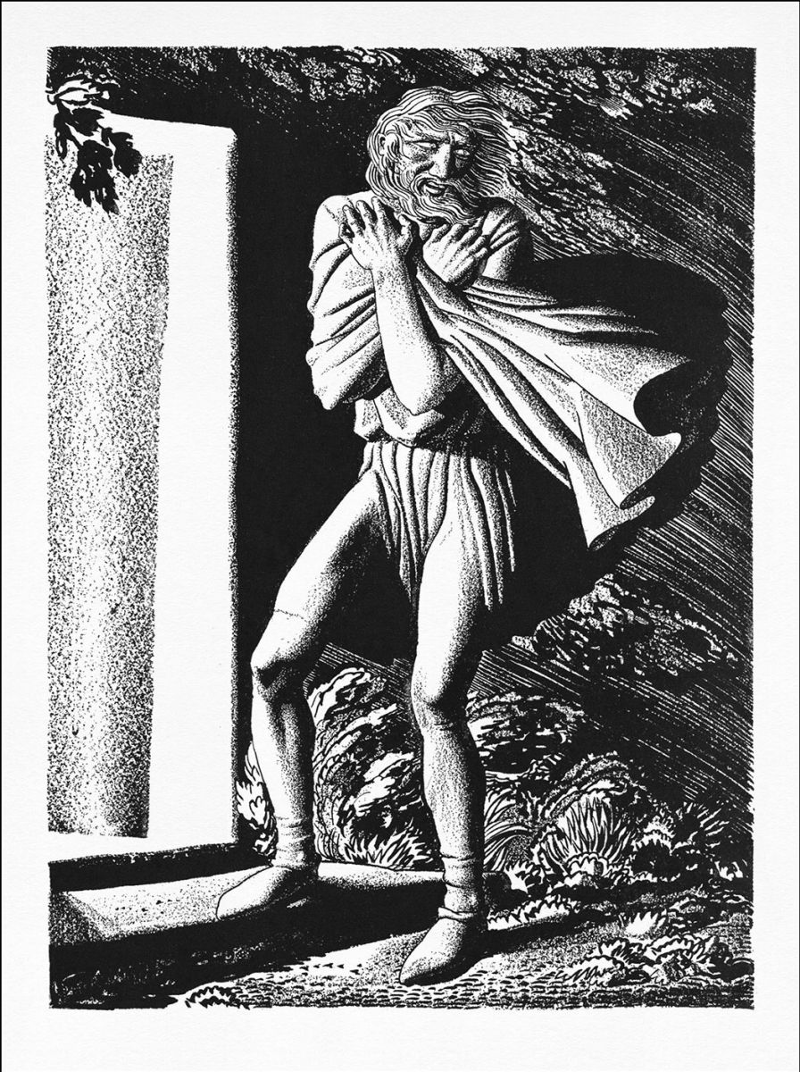 King Lear by Rockwell Kent