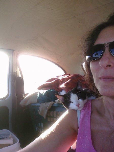 Caia First Car Ride