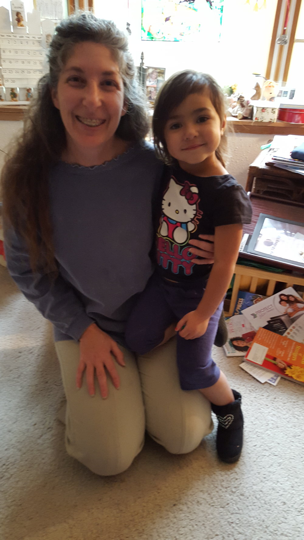 Phebe with great niece