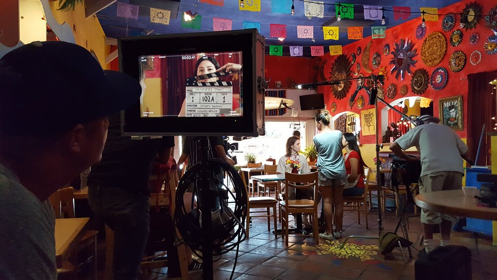 Local restaurant Del Pueblo Cafe lends its location for the film