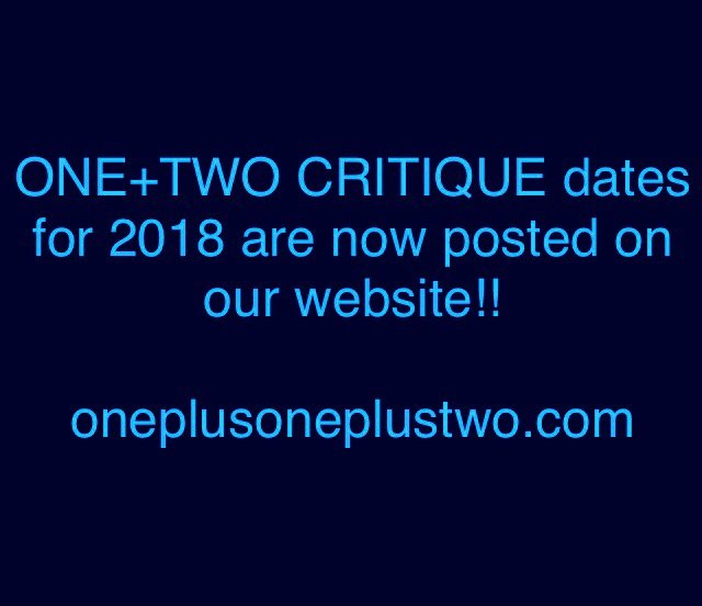 The next Critique is scheduled for Sunday, April 15th! Sign up now as a showing artist, a Lead or an audience member! Go to our website and click on ONE+TWO Critique to RSVP! . . . #oneplusoneplustwo #critique #art #artist #supportartists #letstalk #letstalkaboutit #talkart #arttalk #sfart #sfarts #bayareaart #bayareaart #sfstudio