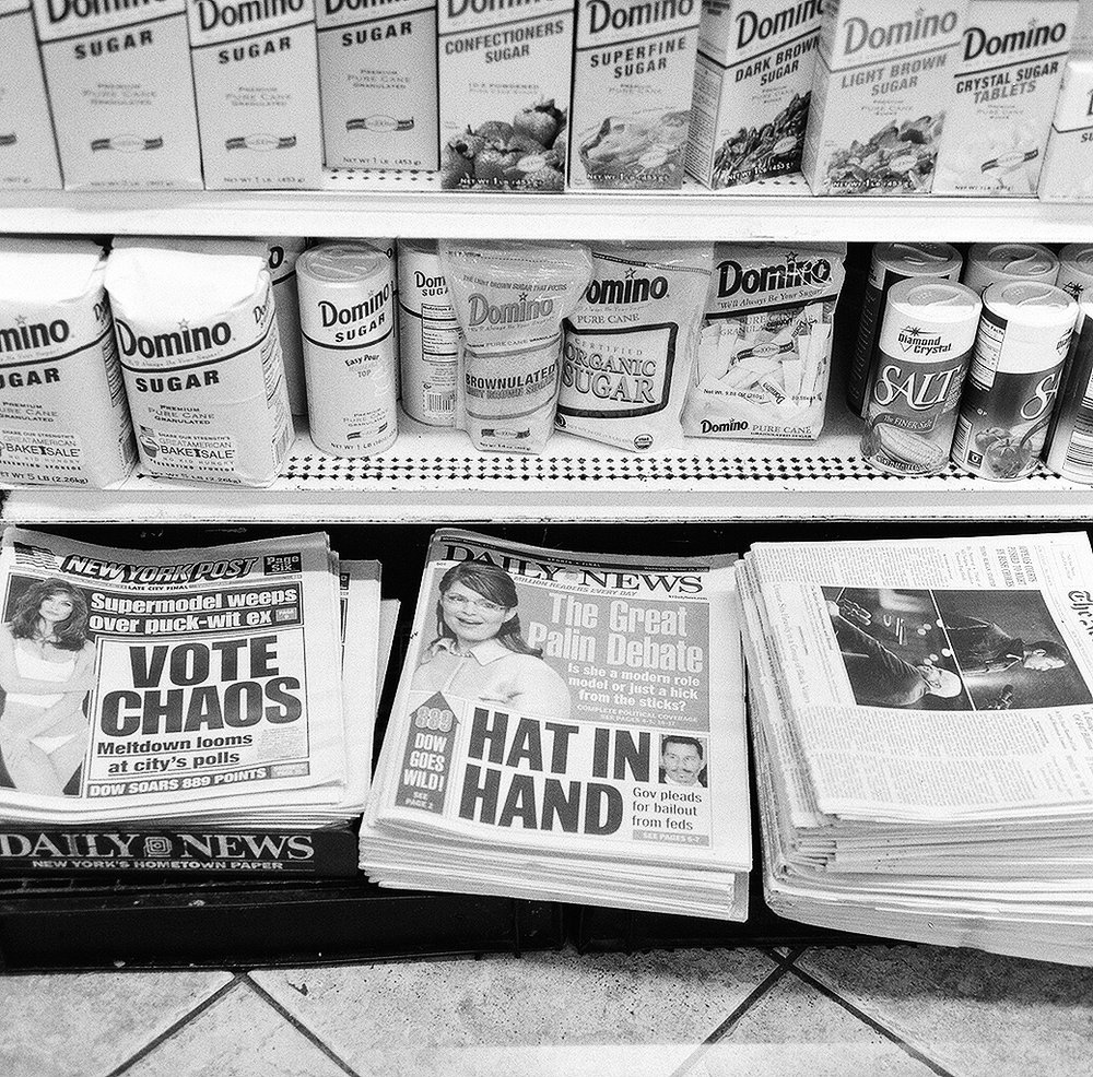 Convenience Store, New York City (2008) ©Sarah Windels