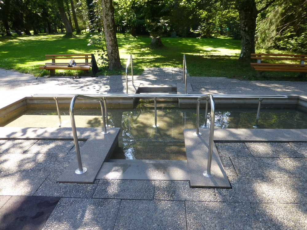 Water Treading Area, Kur Park, Bad Worishofen, German