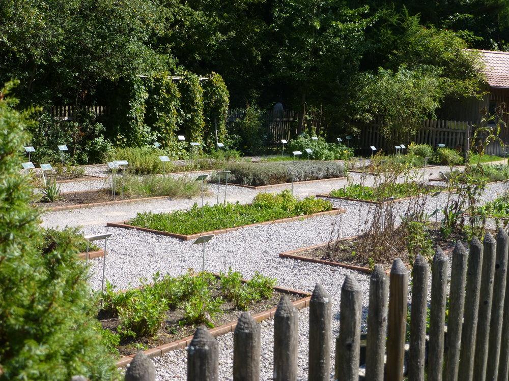 Medicinal Herbal Garden, Kur Park, Bad Worishofen, Germany