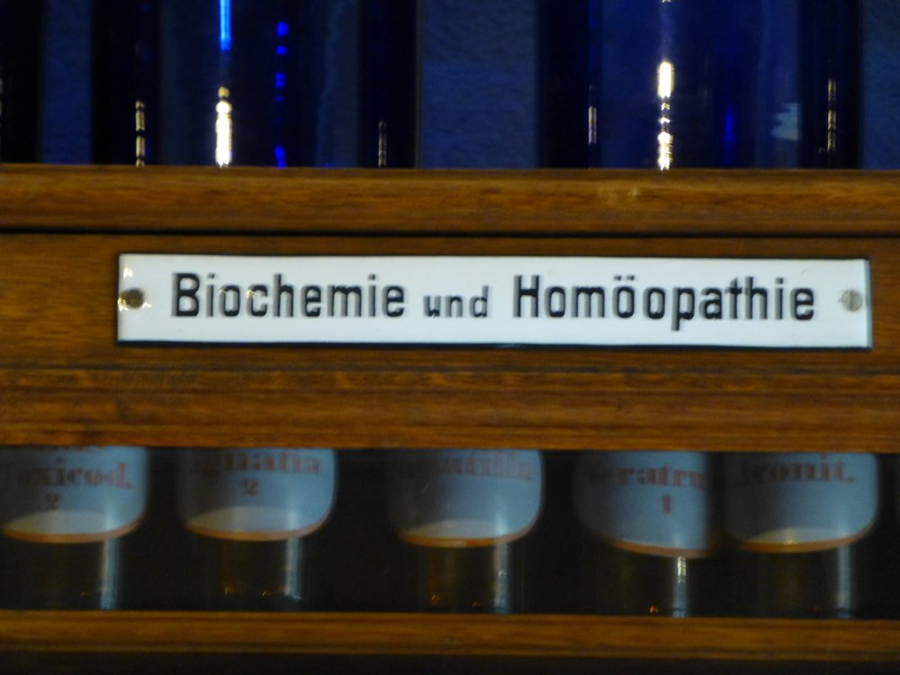Homeopathic Cabinet, Bad Sulza, Germany