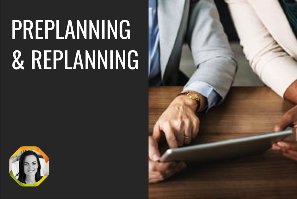 OperationalisingPre-Planning & Re-Planning -