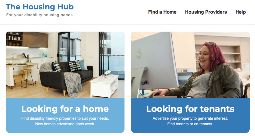 The Housing Hub website: https://www.thehousinghub.org.au/
