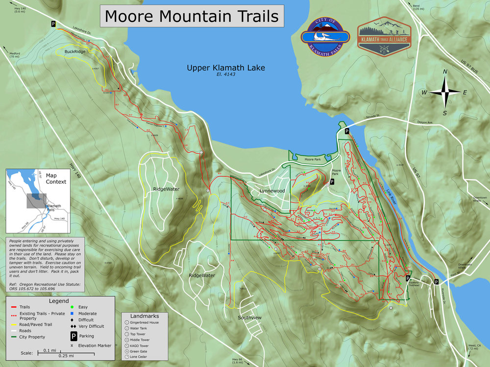 Maps courtesy of Klamath Trails Alliance