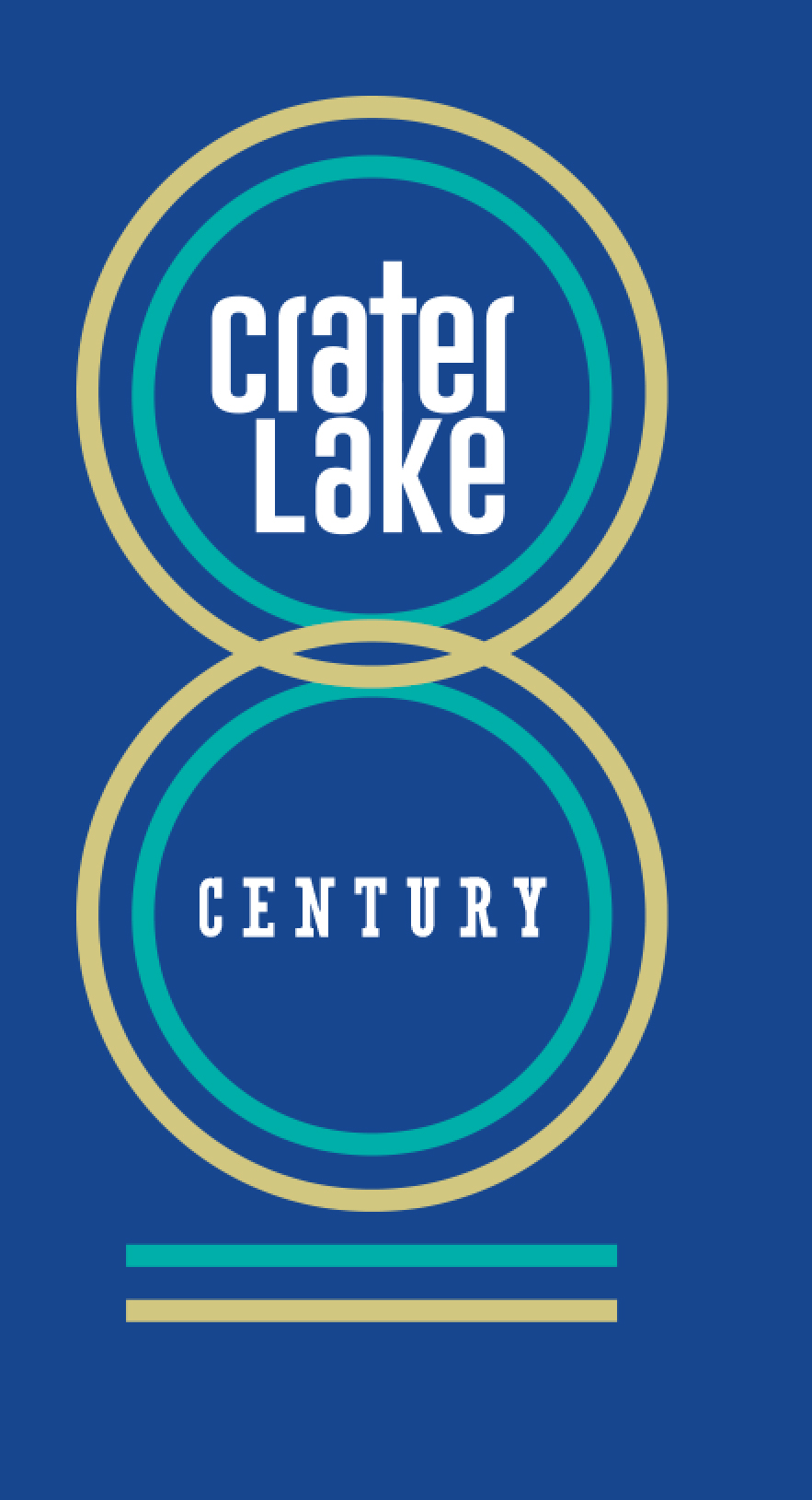 Crater Lake Century Logo