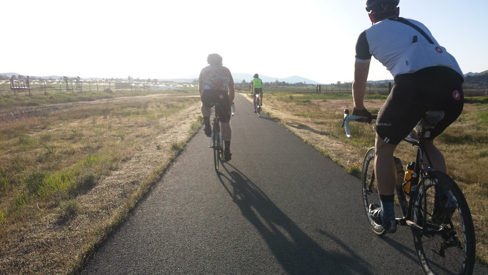 The OC&E Trail is the end of many long road rides in the  Langel Valley and Klamath Basin  areas. This mellow bike path is normally a welcome finale to a great ride.