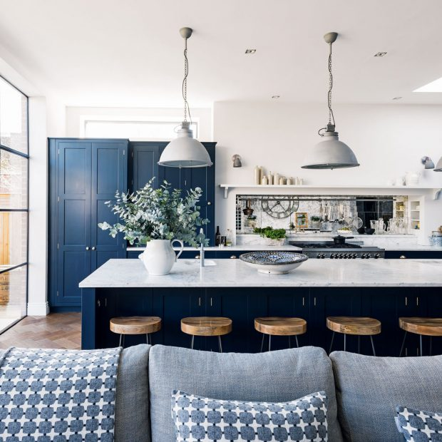 3 ways to use blue in your kitchen verandah house interiors - Verandah house interiors ...