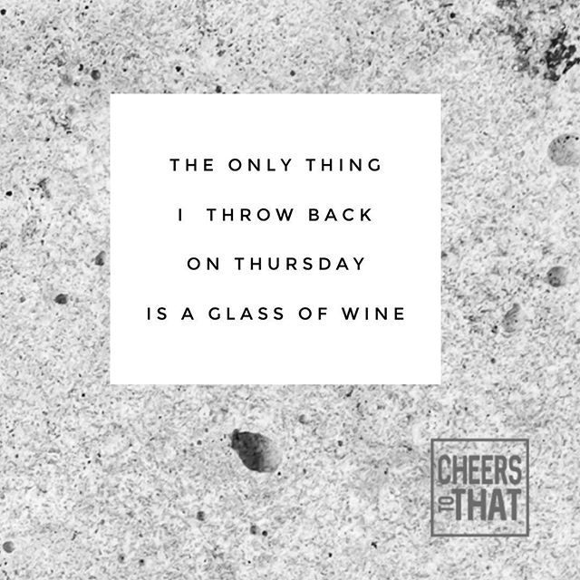 Cheers to that 🍷 #throwbackthursday