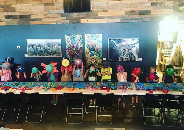 Little Artist on Thursdays from 3:30 - 5:30pm