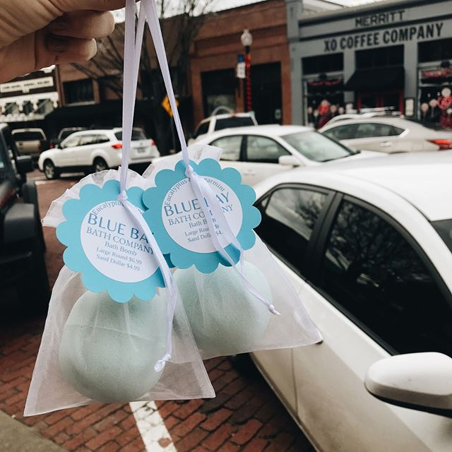 All Blue Bay Bath Co products are 30% off!! Check out their amazing bath bombs, bath salts, soaps, and lotions.