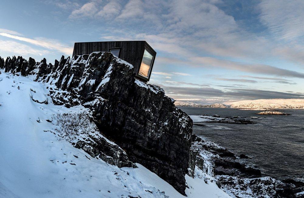 Kongsfjord birdhide