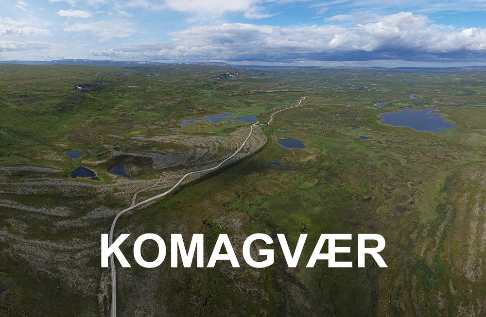 Komagvær Varanger areal copyright Biotope