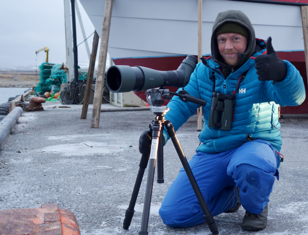 Bird surveying by Tormod Amundsen Biotope in Varanger