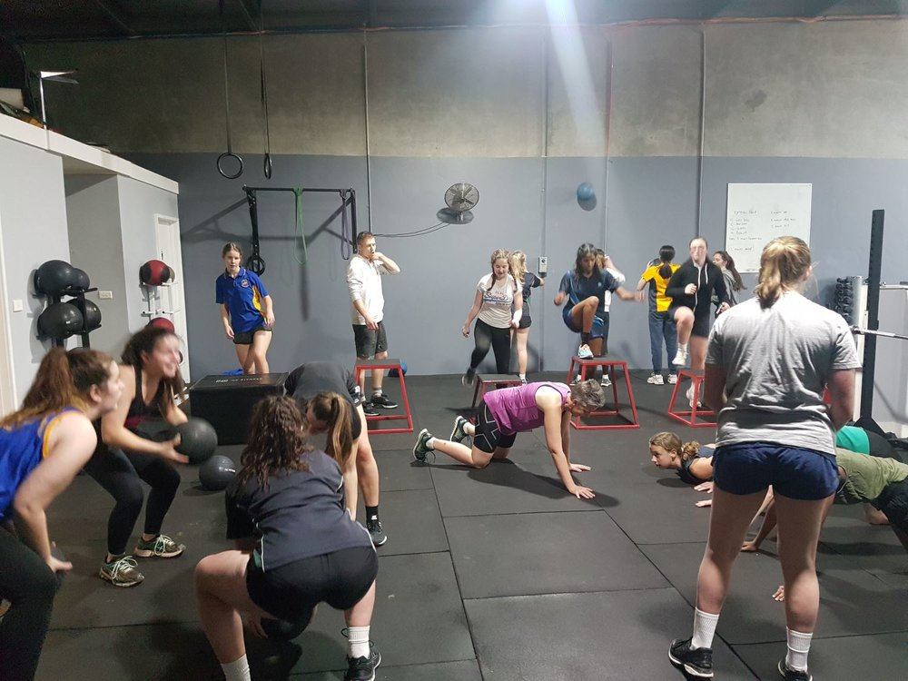 U17 Ko Fitness Session AUG 2018