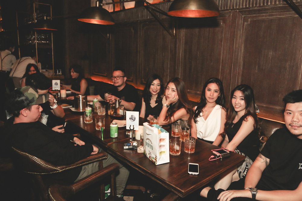 Chamber Restaurant Pacific Place Jakarta Shaken Not Stirred Event