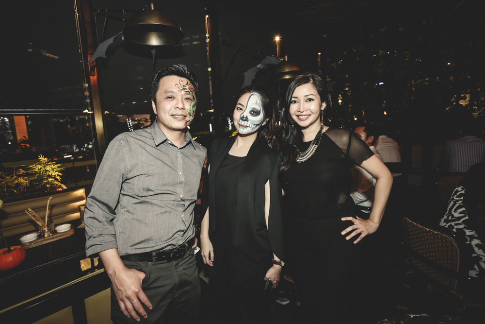 Chamber Restaurant Pacific Place Hallowine Party