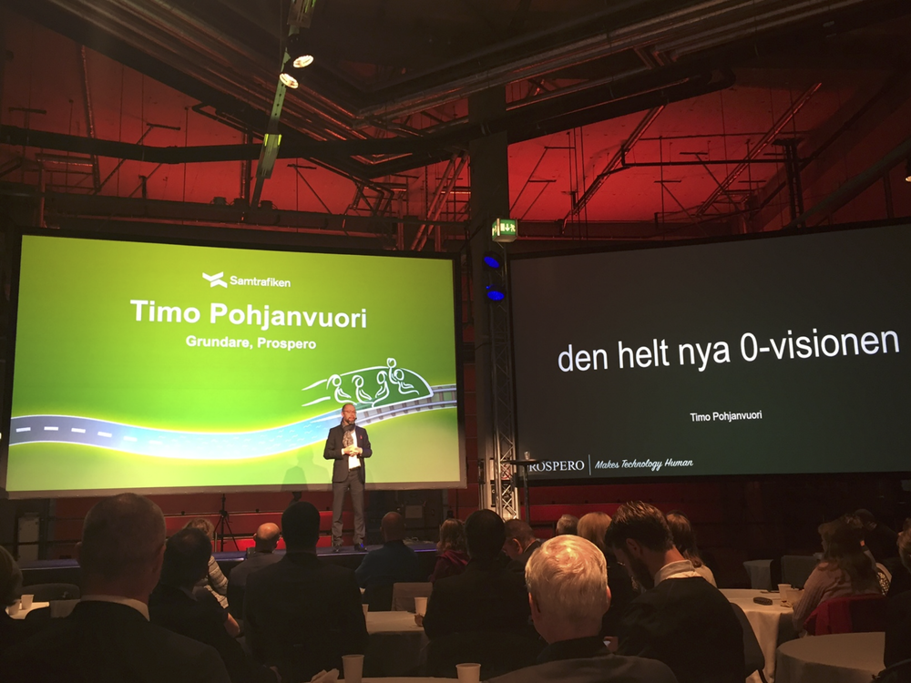 Timo Pohjanvuori presenterar den nya nollvisionen