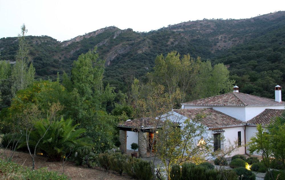 Luxury villa rental near Ronda, Andalucia, Spain