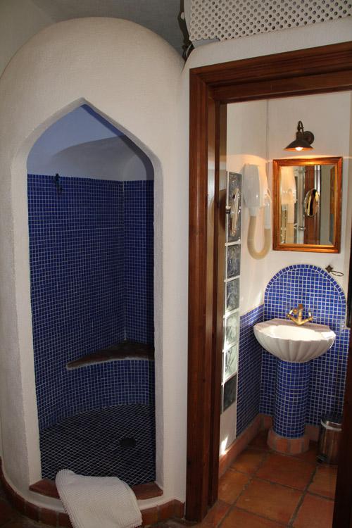 En suite bathroom 1 at luxury villa rental in Ronda, Andalucia, Spain