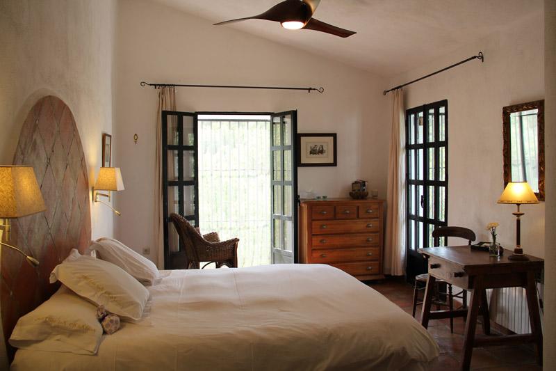 Bedroom 2 in rental villa in Ronda, Andalucia, Spain
