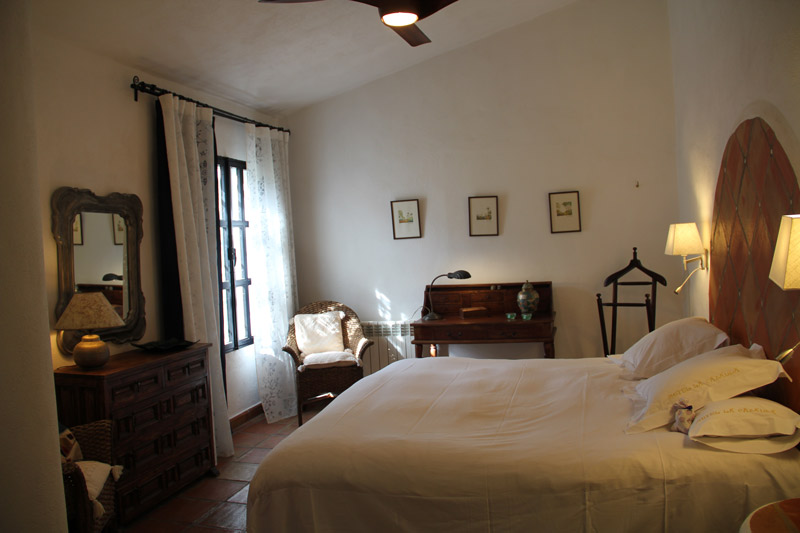 Bedroom 3 in luxury villa rental in Ronda, Andalucia, Spain