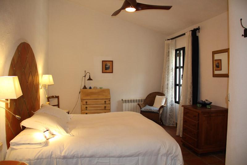 Bedroom 4 in luxury villa rental in Ronda, Andalucia, Spain