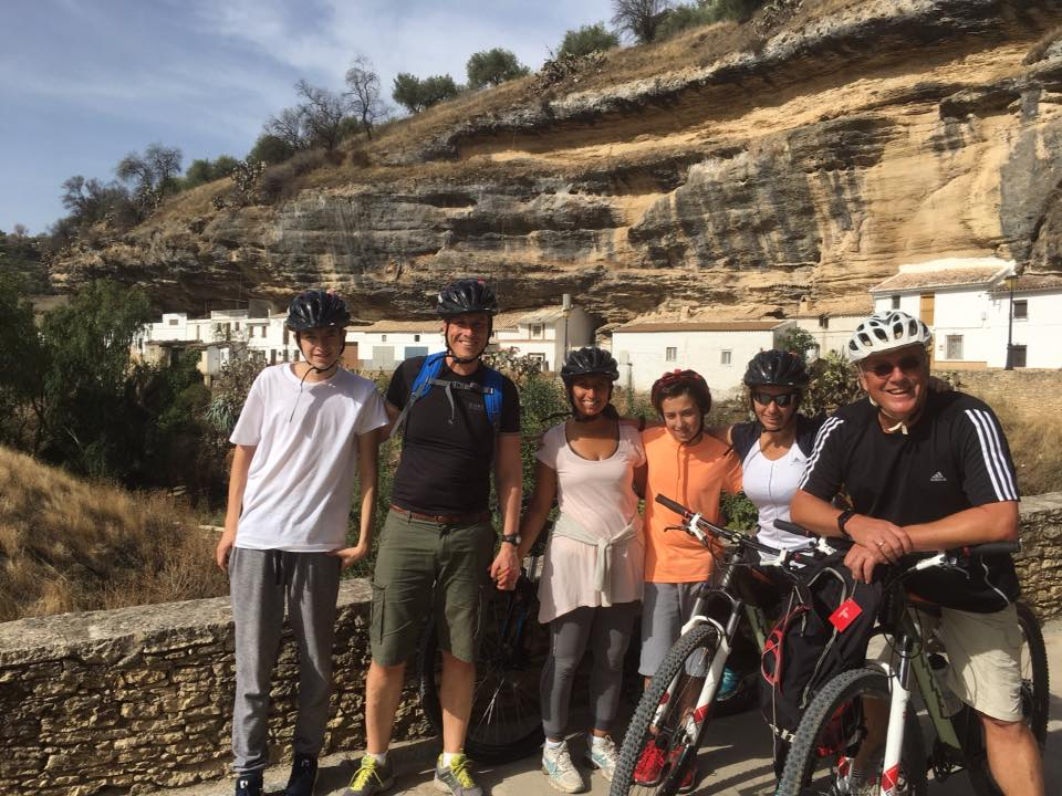 Cycling from our beautiful holiday villa in Ronda, Andalucia, Spain