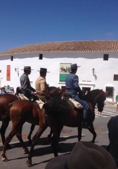 Fun for everyone at the September fiesta close to our luxury villa rental in Ronda, Andalucia, Spain