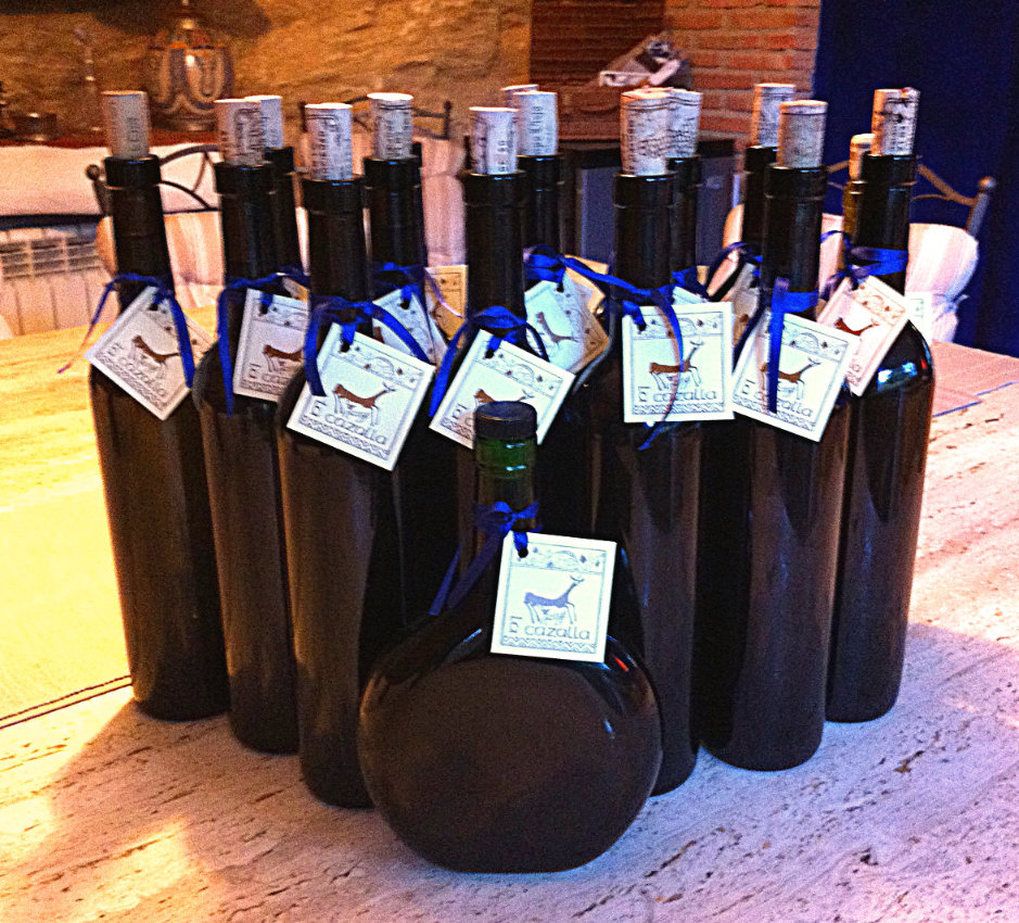 Free organic olive oil from our holiday rental in Ronda, Andalucia, Spain