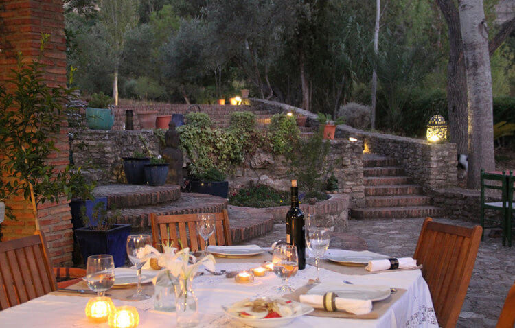 Self-catering accommodation for large groups in Ronda, Andalucia, Spain