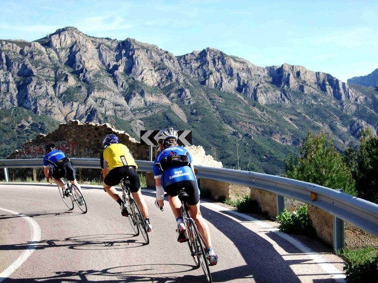 Fantastic cycling routes surround our luxury villa rental in Ronda, Andalucia, Spain