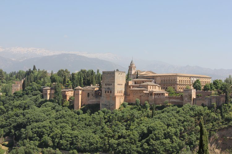 Visit Granada from our luxury villa rental in Ronda, Andalucia, Spain