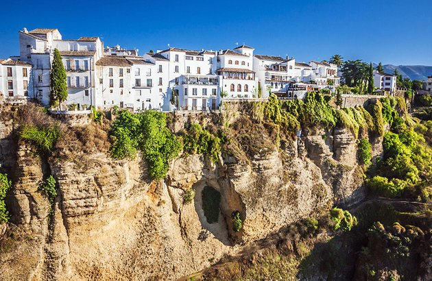 Pueblos Blancos (White Villages) in Andalucia, Spain