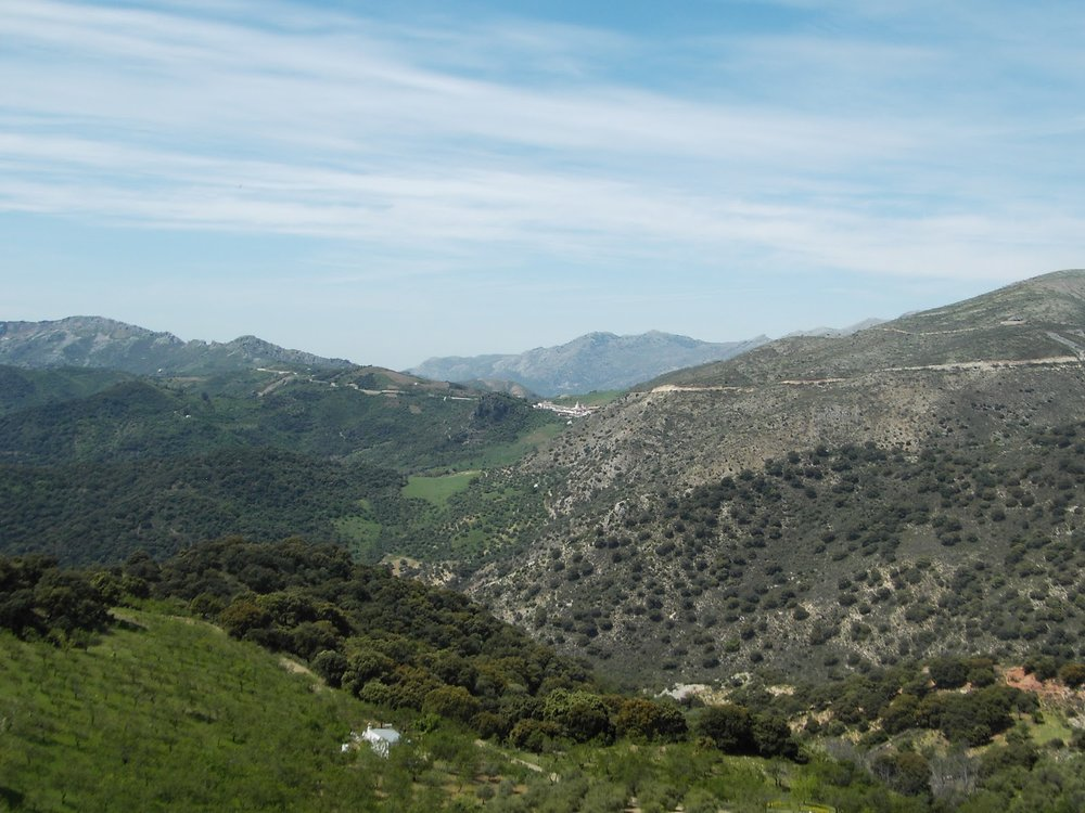 Walk from La Cazalla de Ronda to Alpandeire, Spain