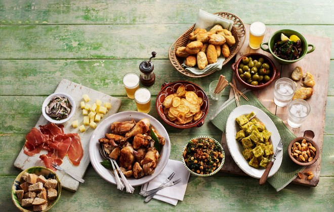 Andalucian cuisine - local produce, healthy food