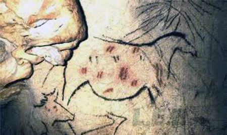 20,000 year old cave paintings near luxury villa rental in Ronda, Spain: La Cazalla de Ronda