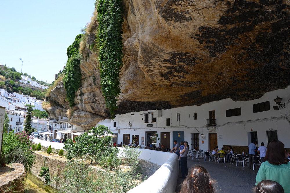 setenil_de_las_bodegas_short_drive_from_luxury_villa_rental_ronda_la_cazalla