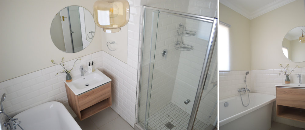 GUEST BATHROOM -  AFTER